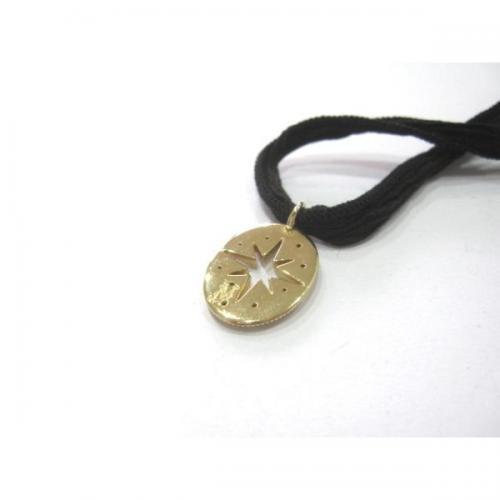 MIZUKI ミズキ K14 ブラックダイヤモンド ネックレス