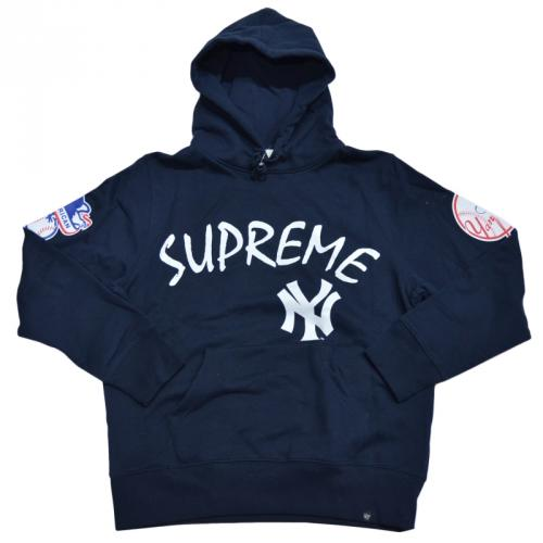 SUPREME シュプリーム Yankees Hooded Sweatshirt パーカー R2-130120