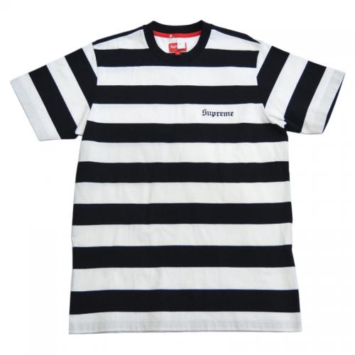 SUPREME シュプリーム Old English Striped Top ボーダーTシャツ R2-130175