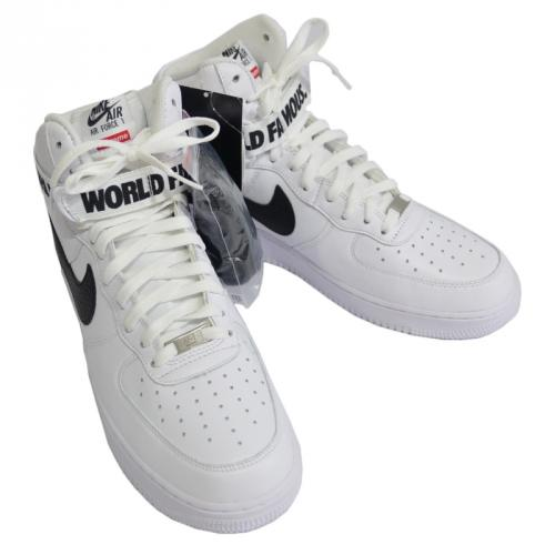 SUPREME シュプリーム ×NIKE AIR FORCE 1 HIGH SUPREME SP R2-132925
