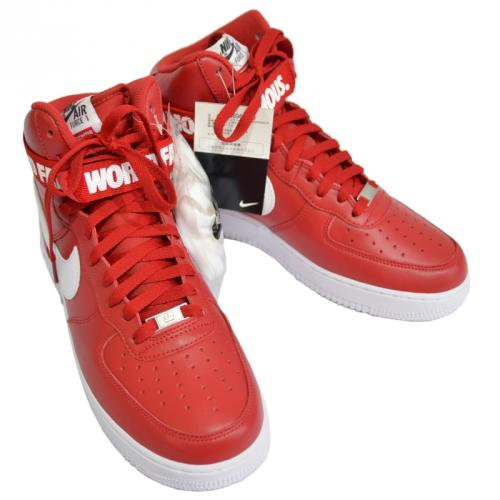 SUPREME シュプリーム ×NIKE AIR FORCE 1 HIGH SUPREME SP R2-132980