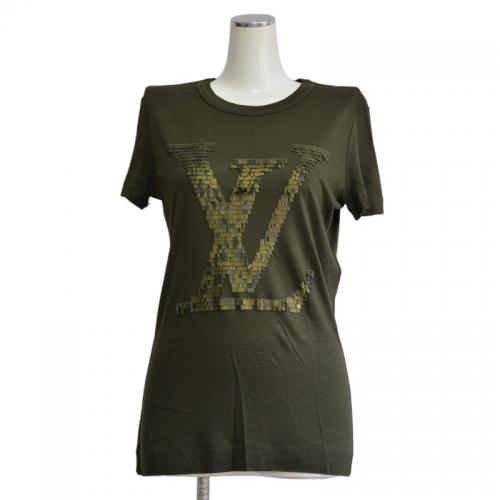 LOUIS VUITTON ルイヴィトン 装飾LVロゴ Tシャツ R2-139085