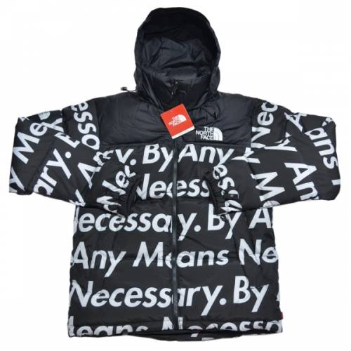 SUPREME シュプリーム × The North Face ザノースフェイス BY ANY MEANS NUPTSE JACKET ダウンジャケット R2-166915