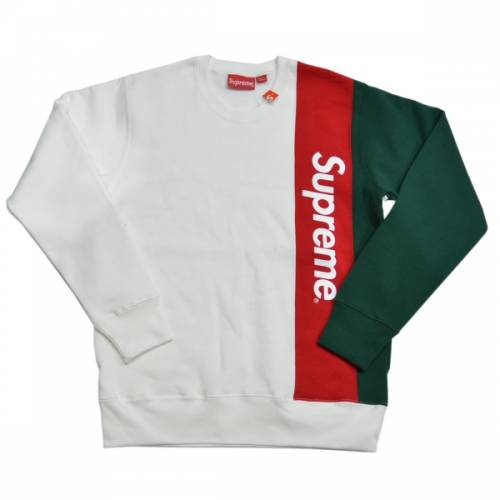SUPREME シュプリーム Panelled Crewneck Sweatshirt スウェット R2-167014