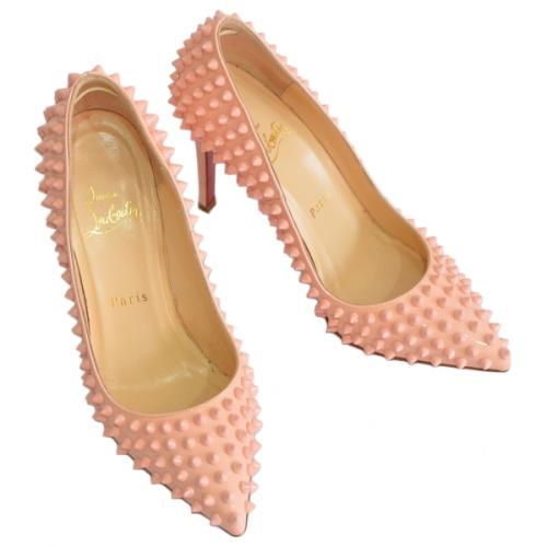 Christian Louboutin クリスチャンルブタン PIGALLE SPIKES スパイク パンプス R2-171502