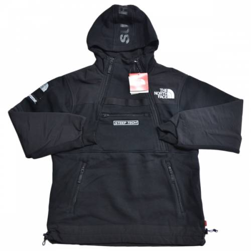 SUPREME シュプリーム × The North Face ザノースフェイス STEEP TECH SWEATSHIRT パーカー   R2-17432B