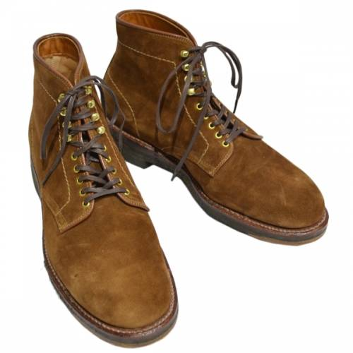 ALDEN オールデン 46054H SNUFF SUEDE LACE UP BOOT スエード レースアップ ブーツ R2-18398B