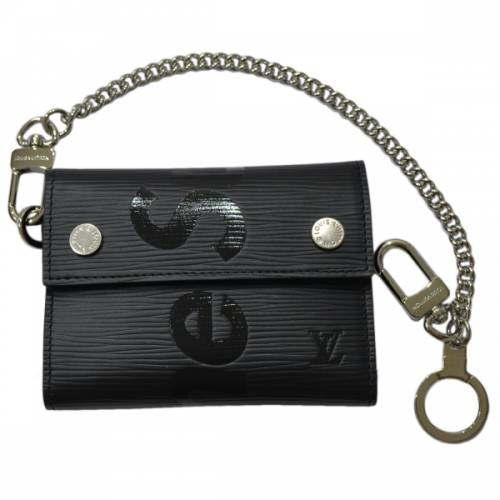 LOUIS VUITTON ルイヴィトン × SUPREME シュプリーム M67711  Epi Chain Compact Wallet エピ チェーン ウォレット R2-195724