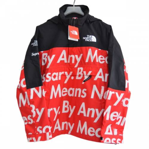 SUPREME シュプリーム × The North Face ザノースフェイス BY ANY MEANS MOUNTAIN PULLOVER プルオーバージャケット R2-20060B