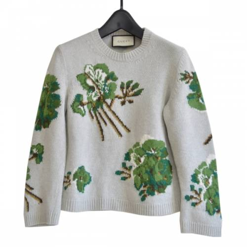 GUCCI グッチ Blooms print knit top 花柄 ニット セーター  R2-219847