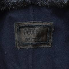 FOXEY フォクシー リバーシブル ミンク ファー ベスト Hoodie Puff R2-246203