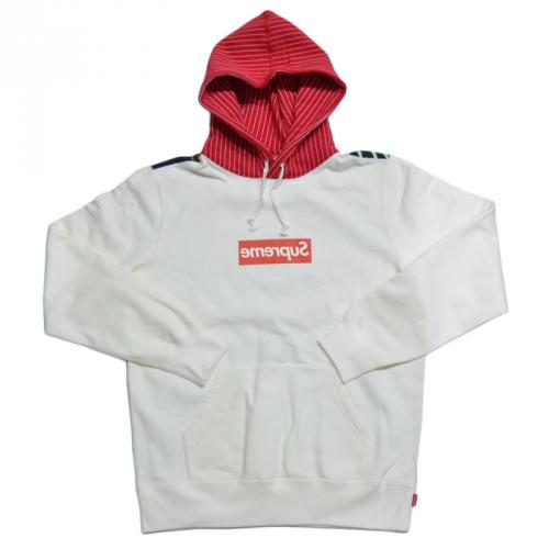 SUPREME シュプリーム × COMME des GARCONS コムデギャルソン BOX LOGO PULLOVER HOODIE パーカー R2-83469