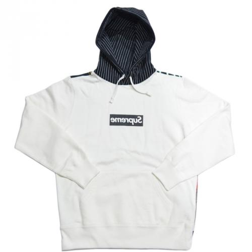 SUPREME シュプリーム × COMME des GARCONS コムデギャルソン BOX LOGO PULLOVER HOODIE パーカー R2-83502