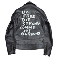 COMME des GARCONS × Lewis Leathers コムデギャルソン × ルイスレザーズ ライトニング レザーライダースジャケット R2A-111024