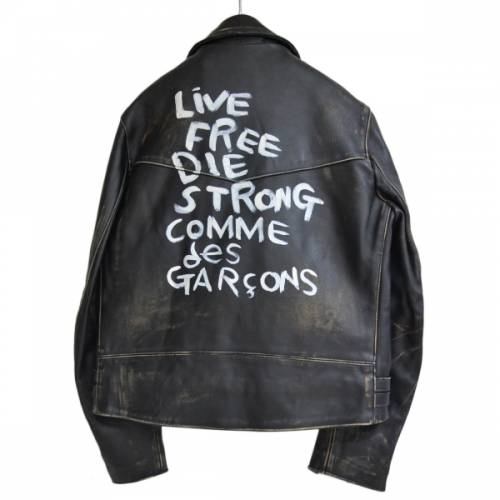 COMME des GARCONS × Lewis Leathers コムデギャルソン × ルイスレザーズ ライトニング レザーライダースジャケット R2A-201576