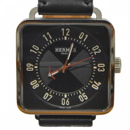 HERMES エルメス Carrè H カレH 38mm 腕時計 R2A-23607B