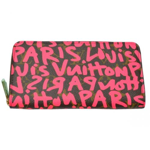 LOUIS VUITTON ルイヴィトン M93710 グラフィティ ジッピーウォレット 長財布 Z-324